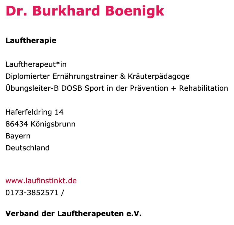 Laufinstinkt.de - Freie Gesundheitsberufe - Bild 3