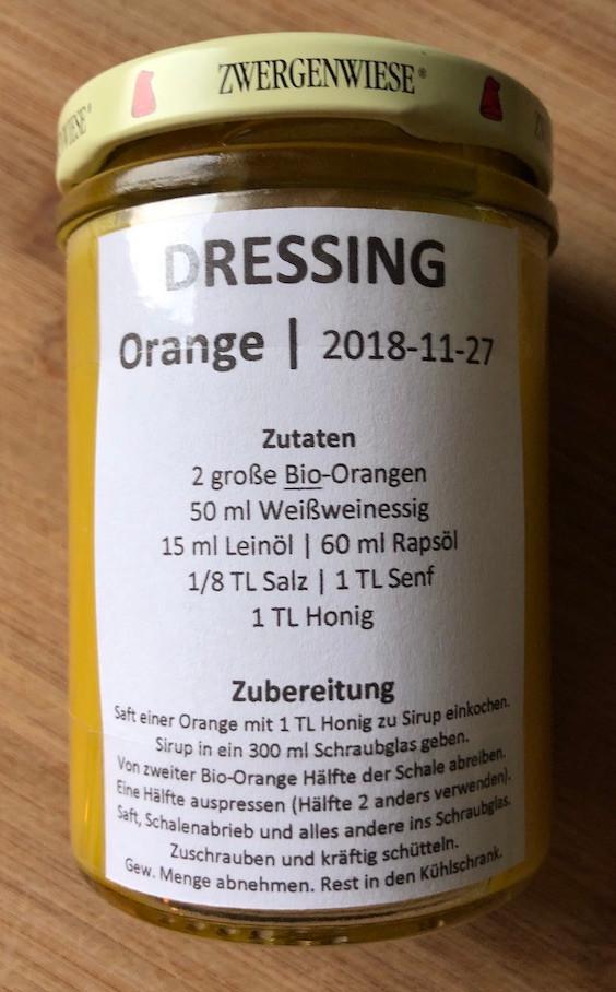 Laufinstinkt.de - LAUFTHERAPIE + ÖKOTROPHOLOGIE Orangendressing 2018-11-27