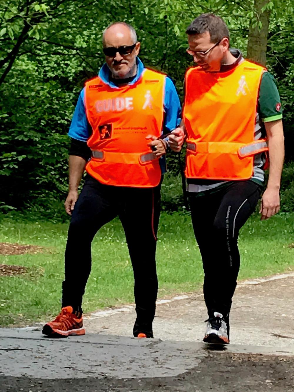 Laufinstinkt+® Augsburg - Blind-Jogging Bild 5