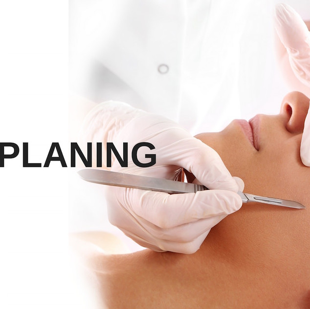 Dermaplaning with LED Light Treatment $81