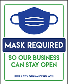 Mask Mandate Signage and Free Masks for