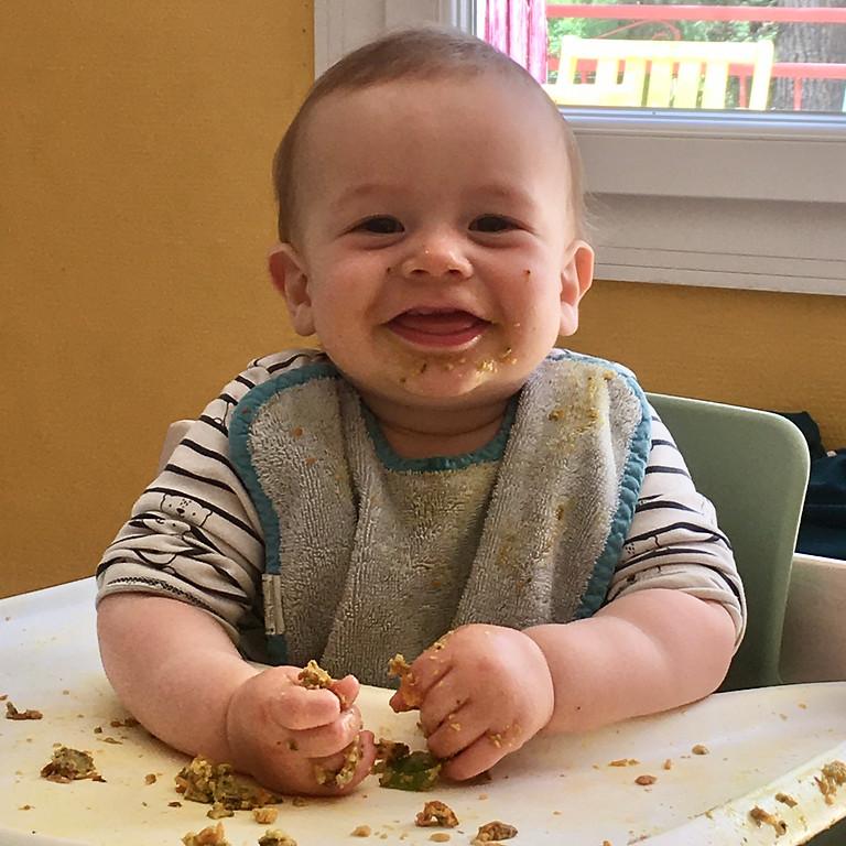 82 : Atelier diversification alimentaire menée selon le rythme et les besoins de bébé