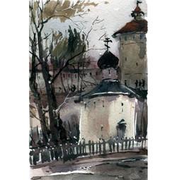 Храмы 75 (Акварель/Watercolor)