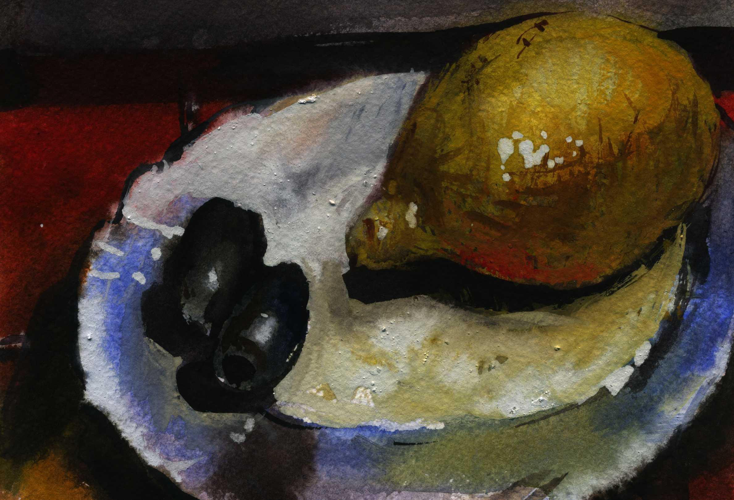 Предметы 16 (Акварель/Watercolor)