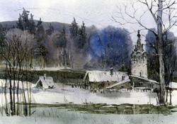 Храмы 59 (Акварель/Watercolor)
