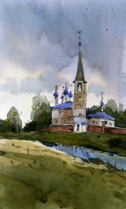 Храмы 34 (Акварель/Watercolor)
