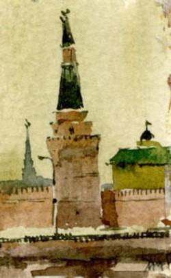 Город 33 (Акварель/Watercolor)
