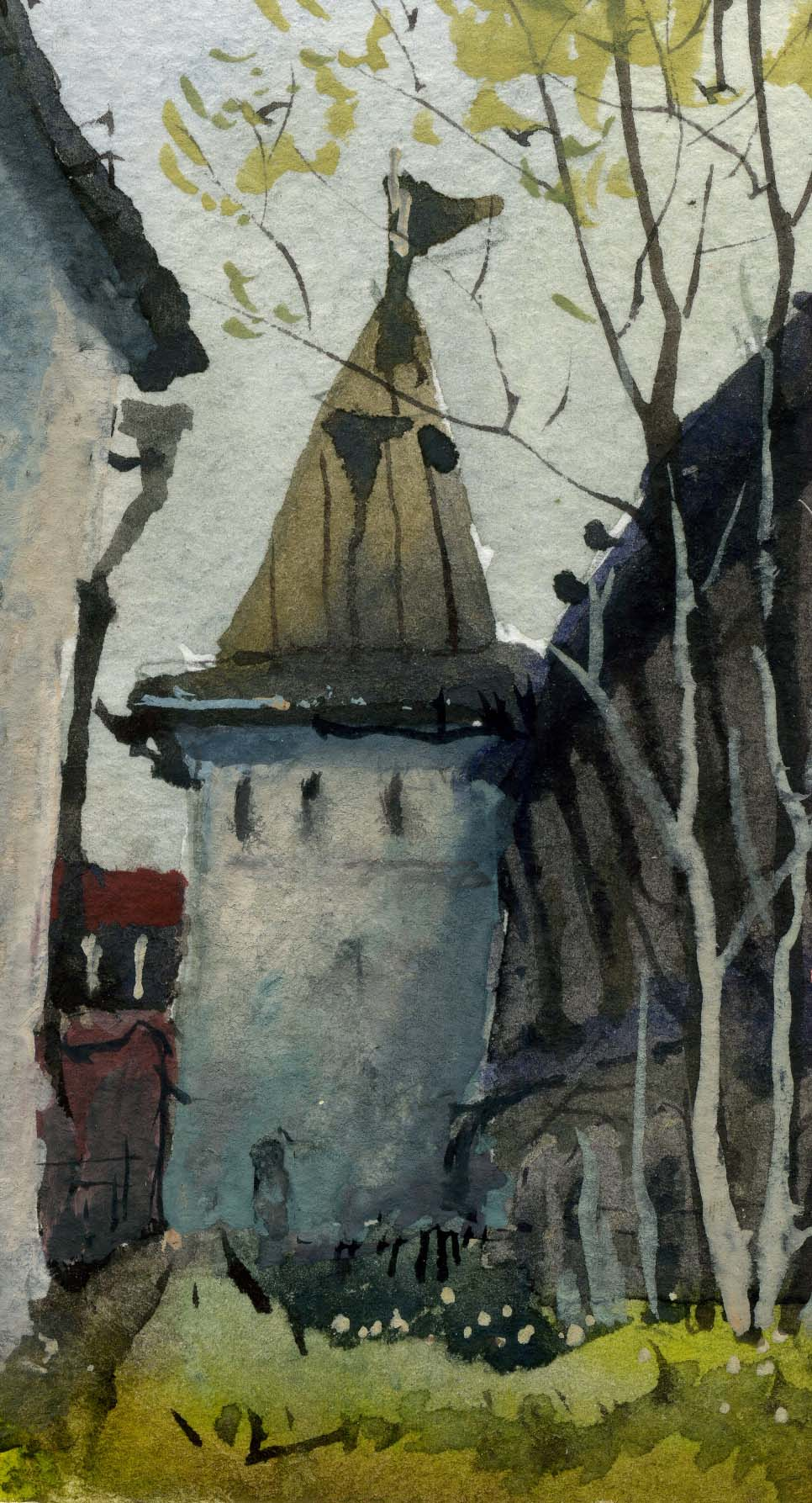 Храмы 37 (Акварель/Watercolor)