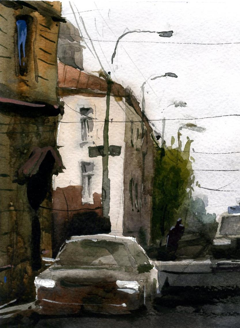 Город 22 (Акварель/Watercolor)