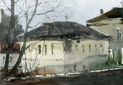 Город 35 (Акварель/Watercolor)