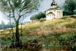Храмы 48 (Акварель/Watercolor)