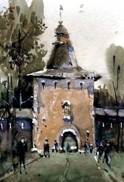 Храмы 10 (Акварель/Watercolor)
