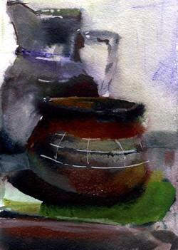 Предметы 9 (Акварель/Watercolor)