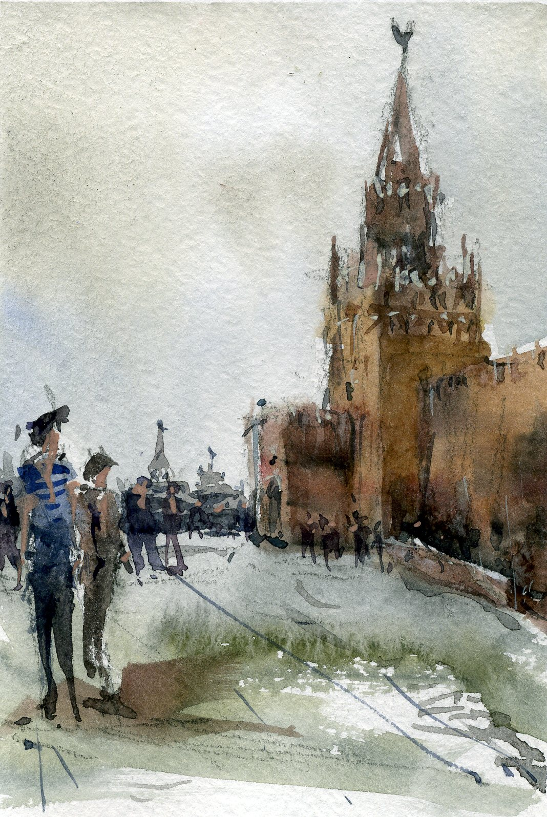 Город 17 (Акварель/Watercolor)