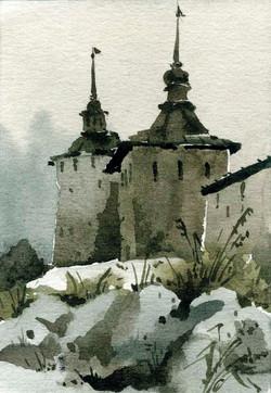 Храмы 40 (Акварель/Watercolor)