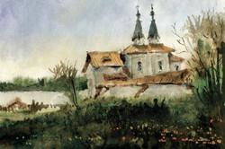 Храмы 71 (Акварель/Watercolor)