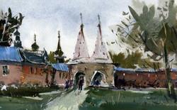Храмы 25 (Акварель/Watercolor)