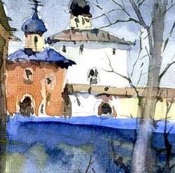 Храмы 7 (Акварель/Watercolor)