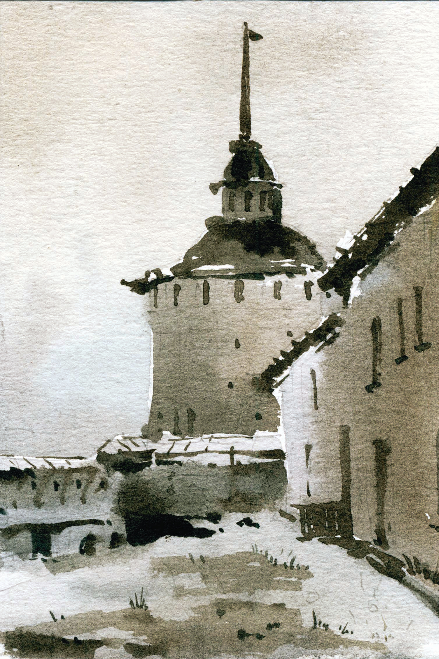 Храмы 67 (Акварель/Watercolor)