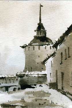 Храмы 67 (Акварель/Watercolor)