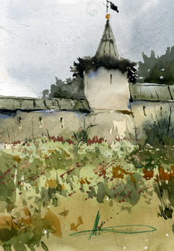 Храмы 21 (Акварель/Watercolor)
