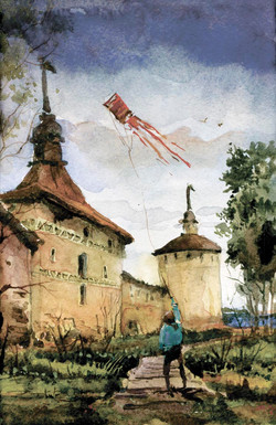 Храмы 39 (Акварель/Watercolor)
