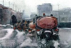 Город 15 (Акварель/Watercolor)