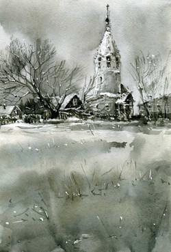 Храмы 70 (Акварель/Watercolor)