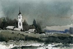Храмы 49 (Акварель/Watercolor)