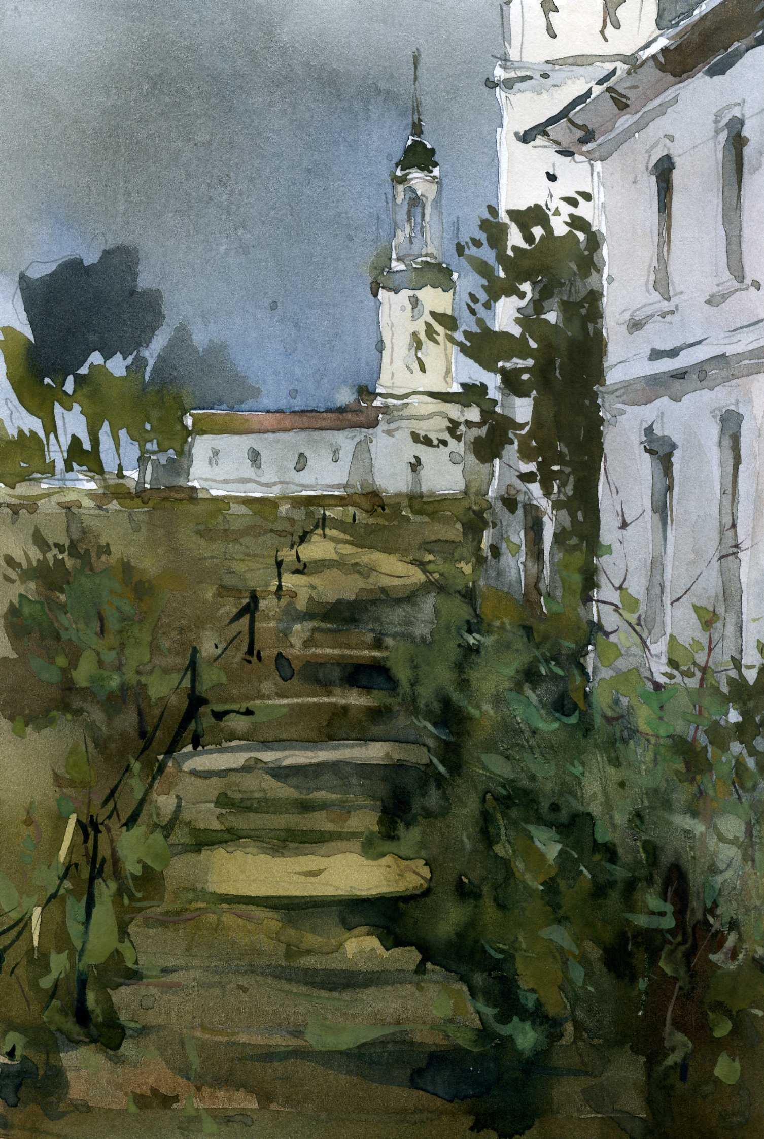 Храмы 35 (Акварель/Watercolor)