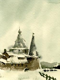 Храмы 50 (Акварель/Watercolor)