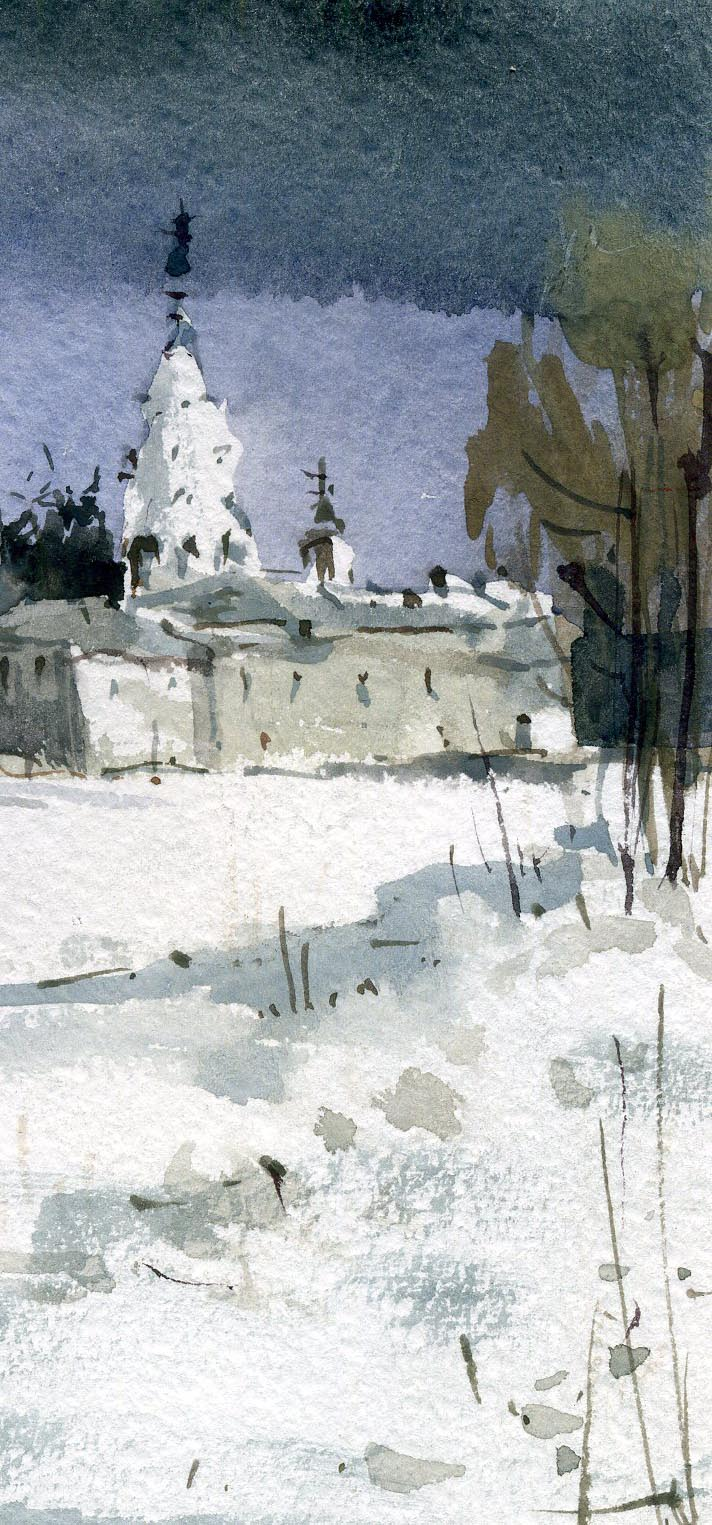 Храмы 55 (Акварель/Watercolor)
