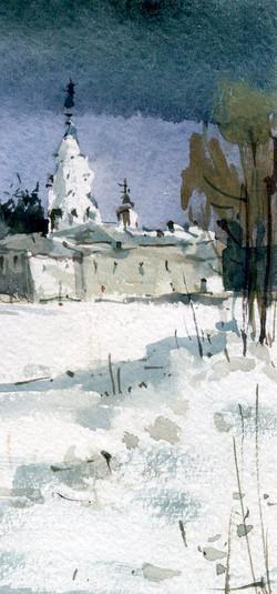 Храмы 55 (Акварель/Watercolor)