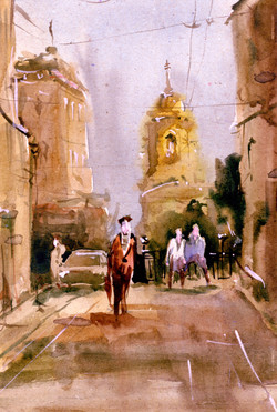 Город 11 (Акварель/Watercolor)