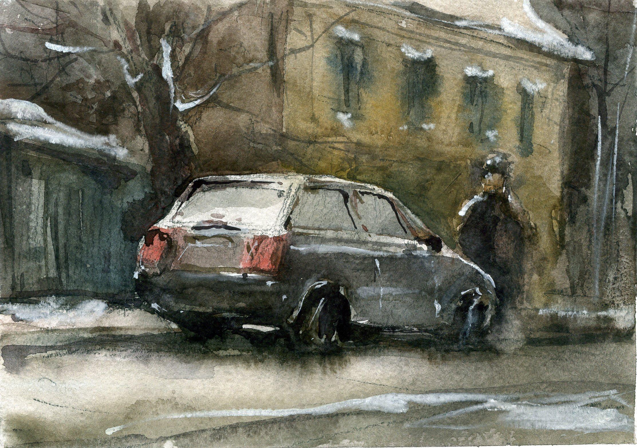 Город 19 (Акварель/Watercolor)