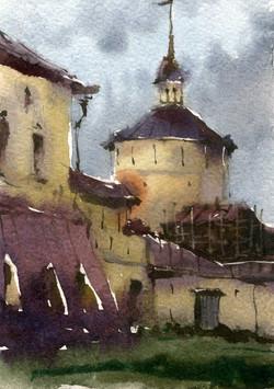 Храмы 28 (Акварель/Watercolor)