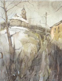 Храмы 42 (Акварель/Watercolor)