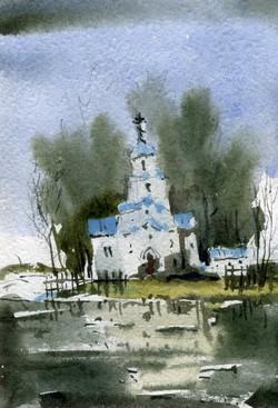 Храмы 61 (Акварель/Watercolor)