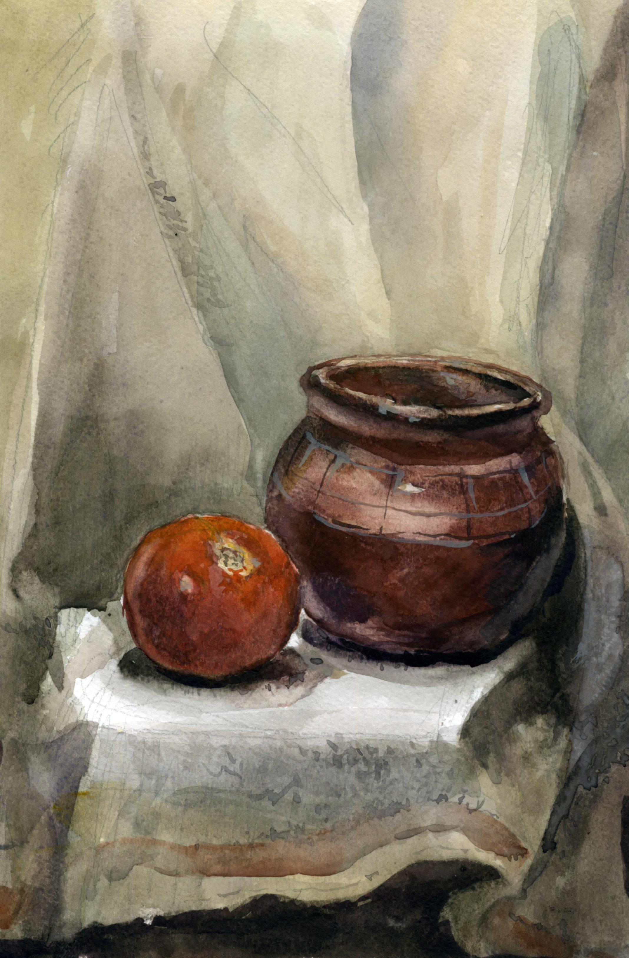 Предметы 26 (Акварель/Watercolor)