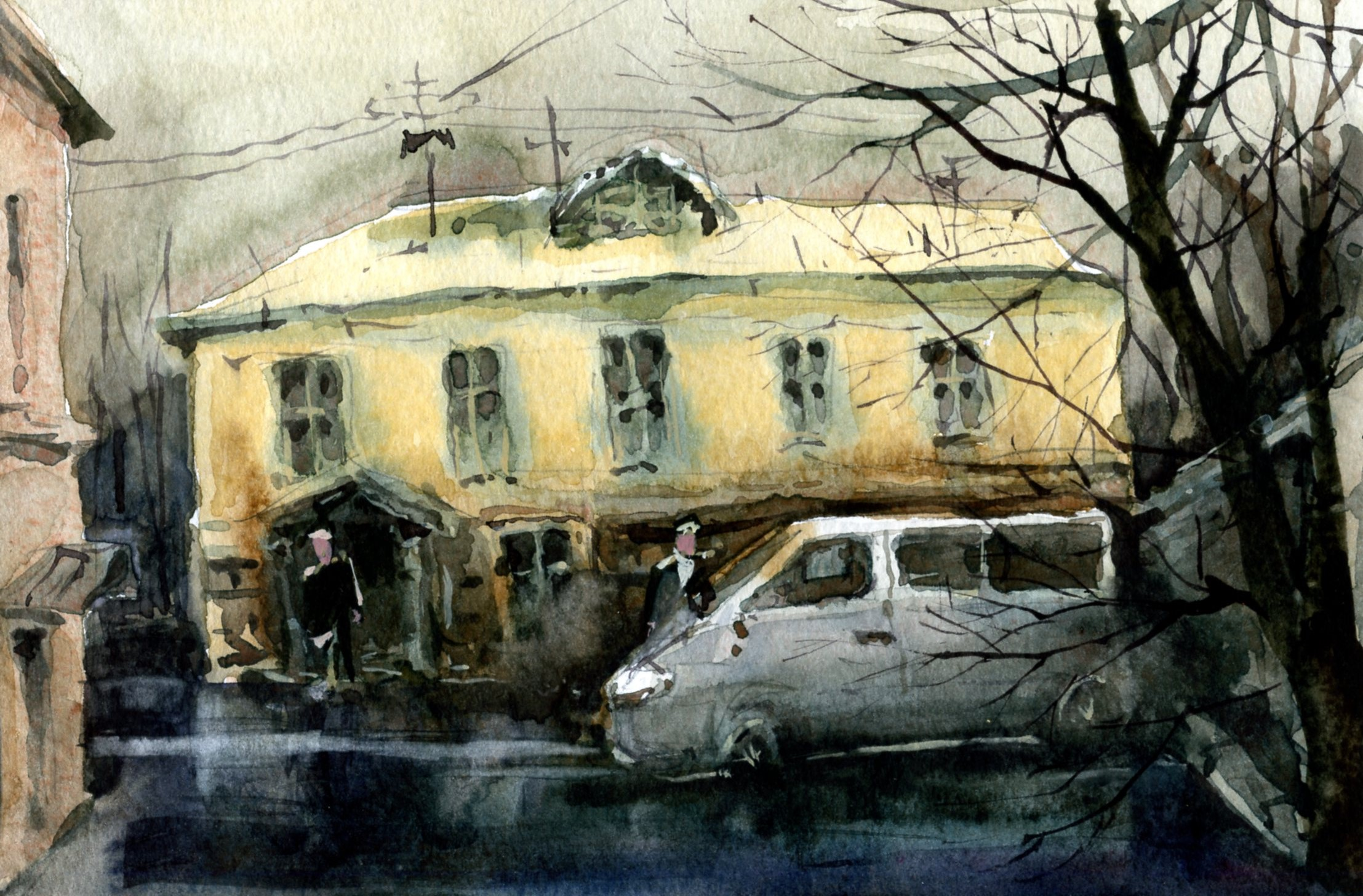 Город 21 (Акварель/Watercolor)