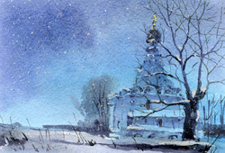 Храмы 53 (Акварель/Watercolor)