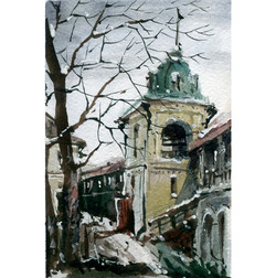 Храмы 60 (Акварель/Watercolor)