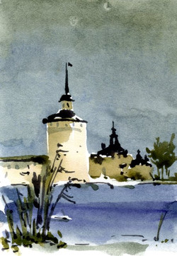 Храмы 51 (Акварель/Watercolor)