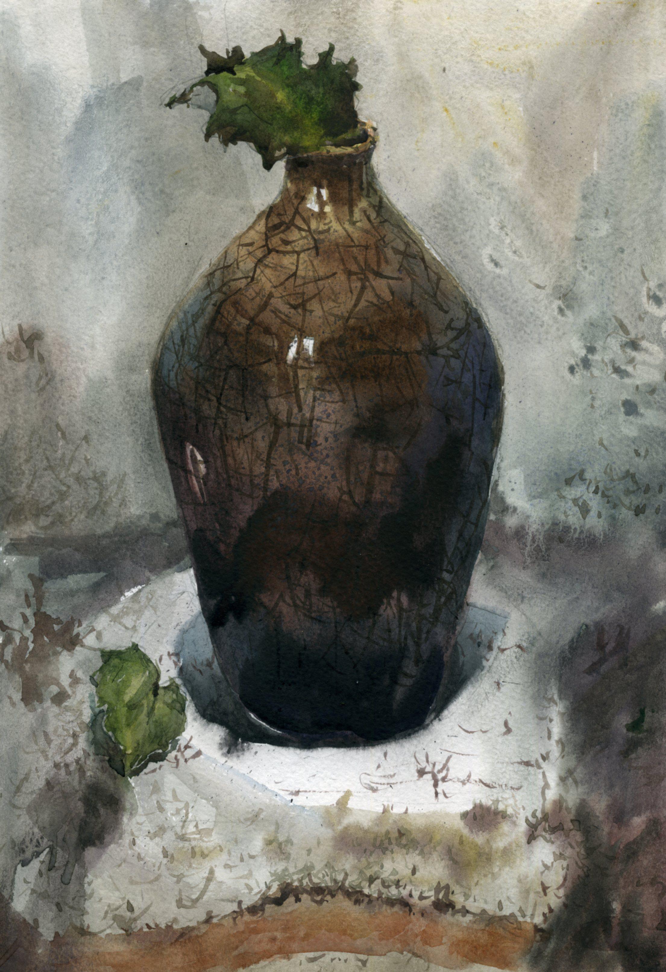 Предметы 24 (Акварель/Watercolor)