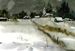 Храмы 52 (Акварель/Watercolor)