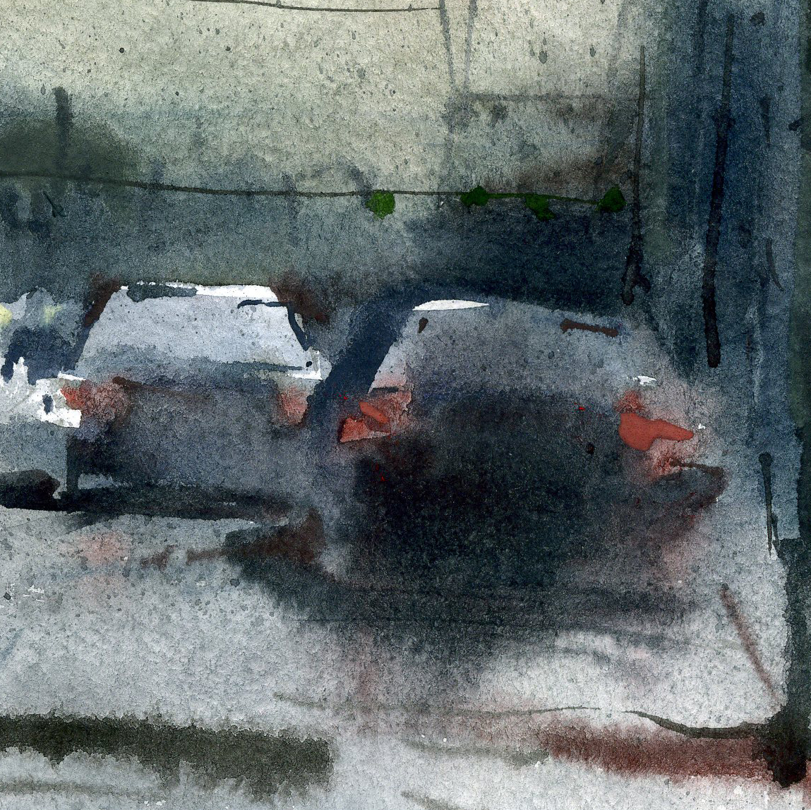 Город 1 (Акварель/Watercolor)