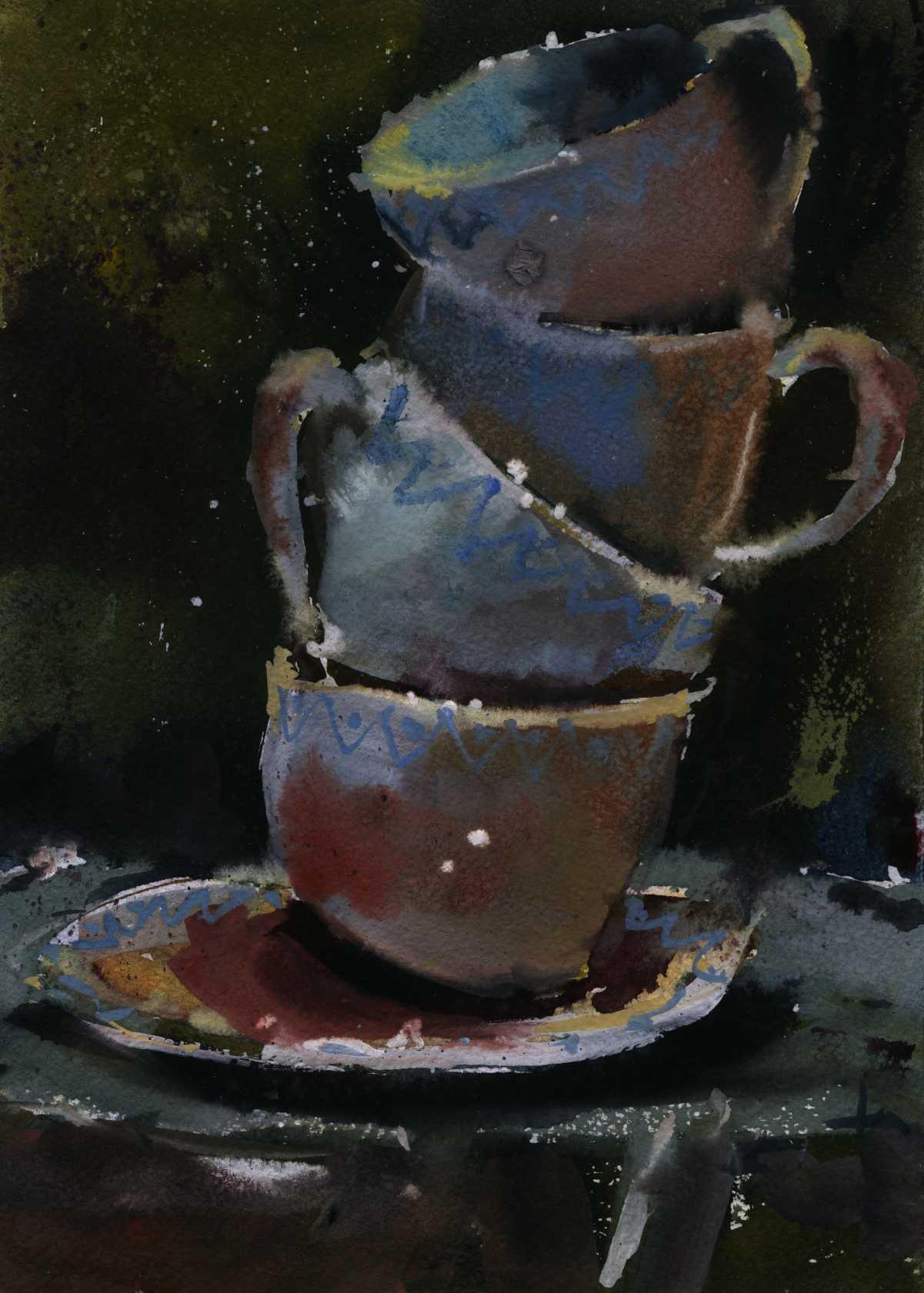 Предметы 14 (Акварель/Watercolor)