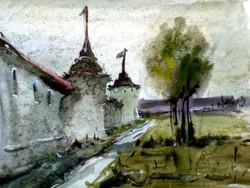 Храмы 1 (Акварель/Watercolor)