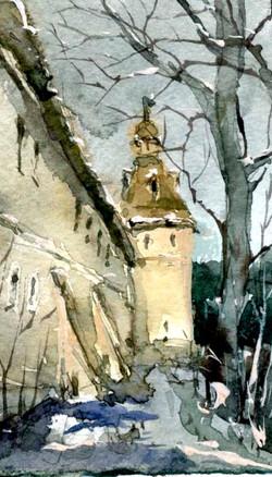 Храмы 38 (Акварель/Watercolor)