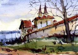 Храмы 6 (Акварель/Watercolor)